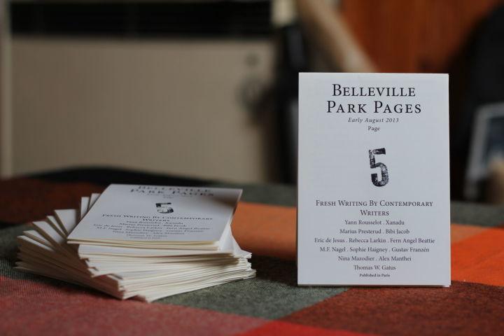 Belleville Pages The Belleville Park Pages